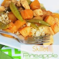 Skillet Pineapple Chicken