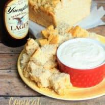 Copycat Beer Bread & Garlic Dip