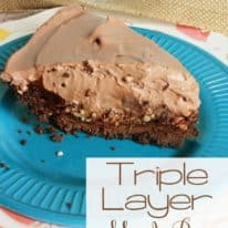 Triple Layer Mud Pie – and a Suprise!
