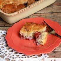 Cherry Buckle Cake
