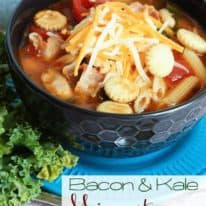 Bacon & Kale Minestrone