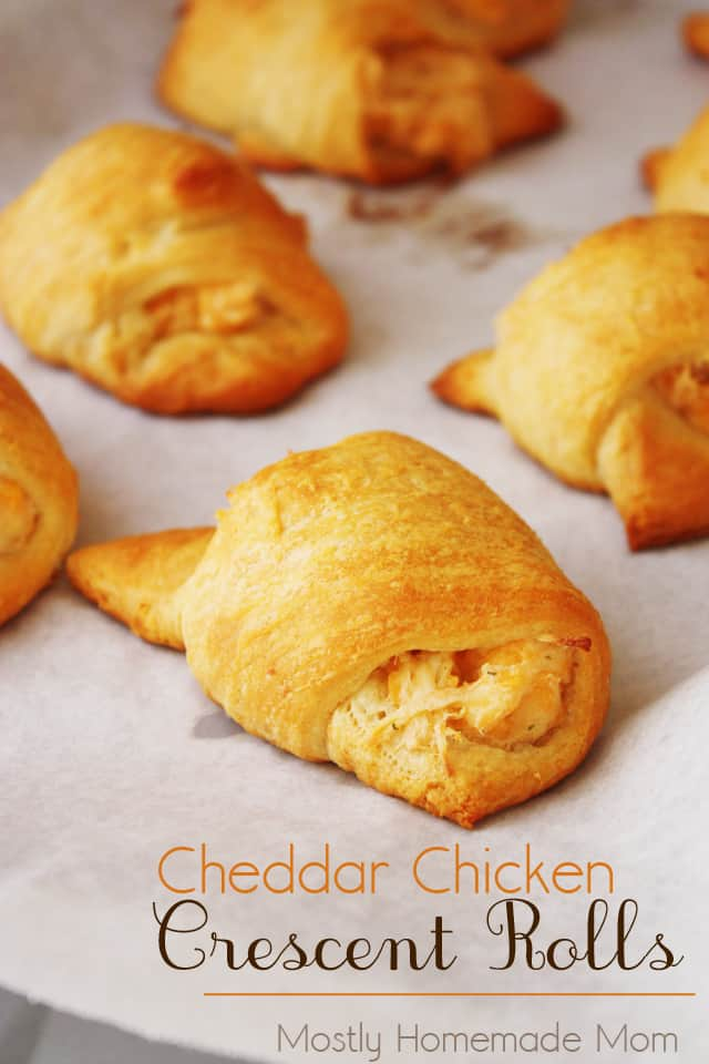 Cheddar Chicken Crescent Rolls Mostly Homemade Mom