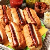 The Ultimate Hot Dog Bar