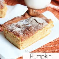 Pumpkin Cheesecake Coffee Cake – 10 Box Tops Recipe!