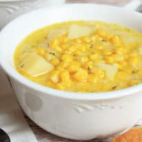 Corn Off the Cob Soup