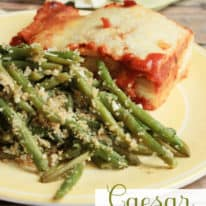 Caesar Green Bean Casserole