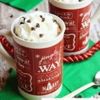 Crockpot Triple Hot Chocolate