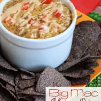 Big Mac Chip Dip