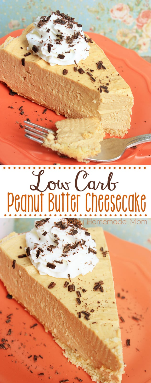 Skinny Low Carb Peanut Butter Cheesecake is virtually sugar free as well, this cheesecake will ROCK your socks off! Who knew you could lose weight eating peanut butter cheesecake?!