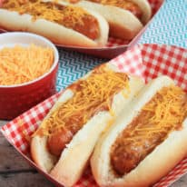 Crockpot Chili Dogs