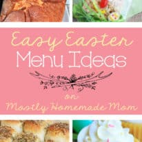 Easy Easter Menu Ideas