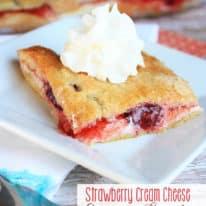 Strawberry Cream Cheese Crescent Danish