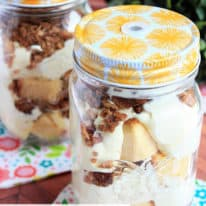 Toasted Pecan Pudding Trifles