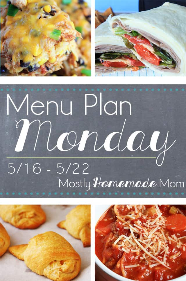 Weekly menu plan meal plan recipes and ideas for dinner