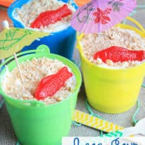 Beach Sand Pudding Dessert