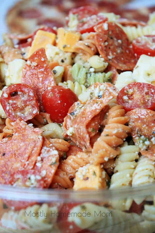 Pizza Italian Pasta Salad