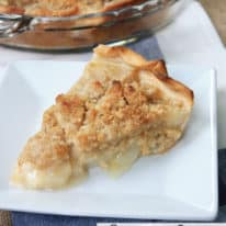 Amish Pear Pie