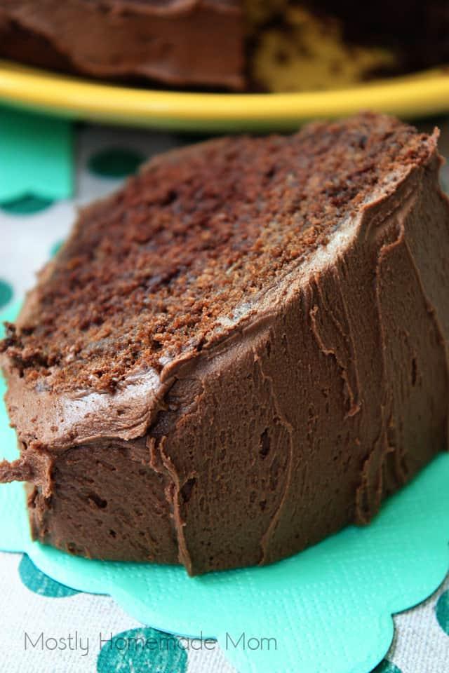 Chocolate Orange Zucchini chocolate cake recipe
