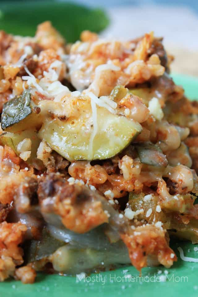 Crockpot Italian Zucchini Casserole crock pot casserole recipes