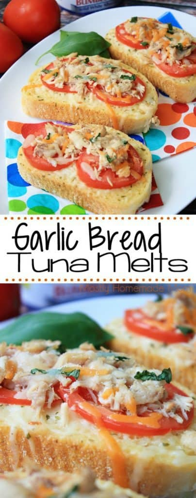 Garlic Bread Best Tuna Sandwich