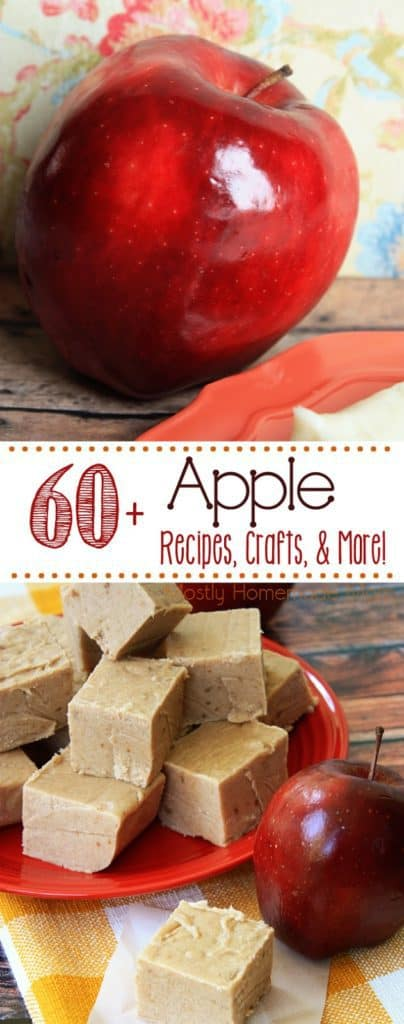 60 Apple Recipes and Apple Crafts