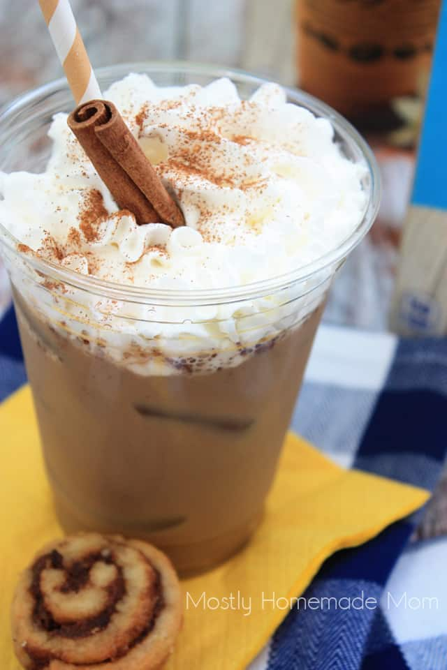 Cinnamon Roll Iced Coffee