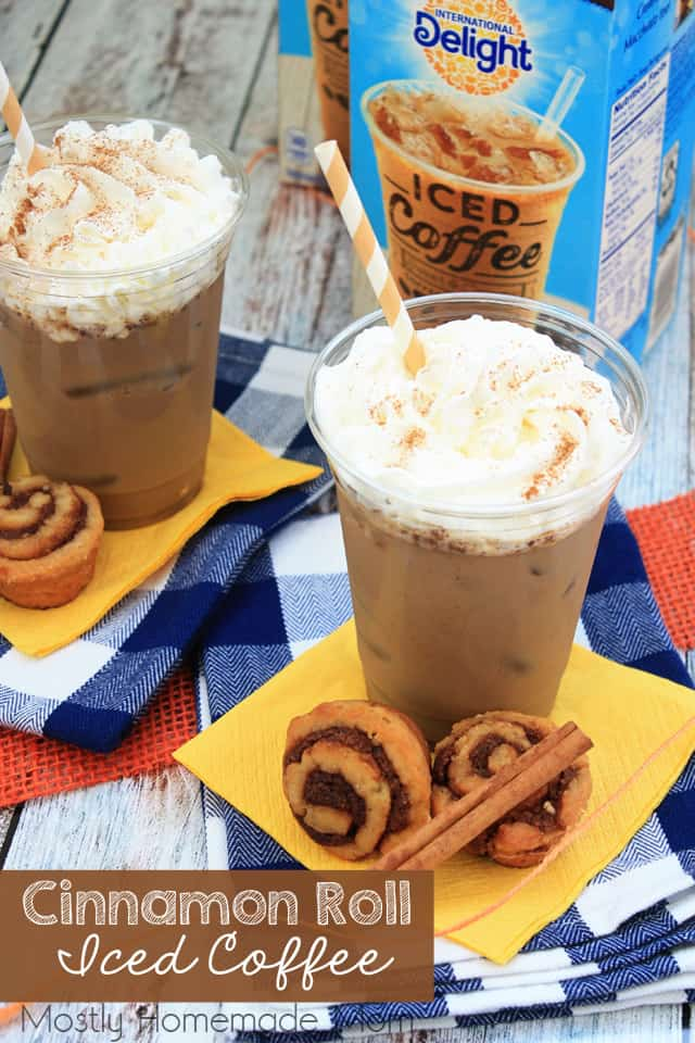 Cinnamon Roll Iced Coffee Recipes