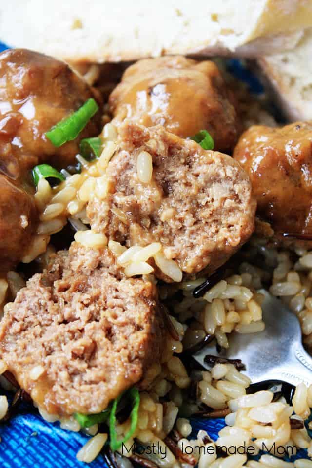 Crockpot Salisbury Steak Meatballs Recipe