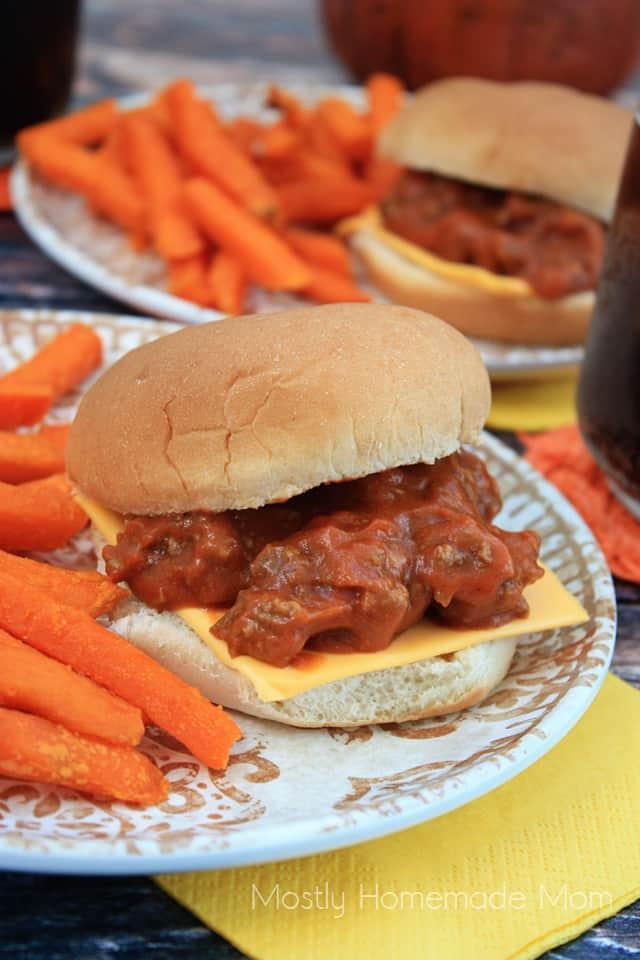 Pumpkin Sloppy Joe Recipe