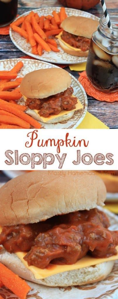 Pumpkin Sloppy Joe Sauce