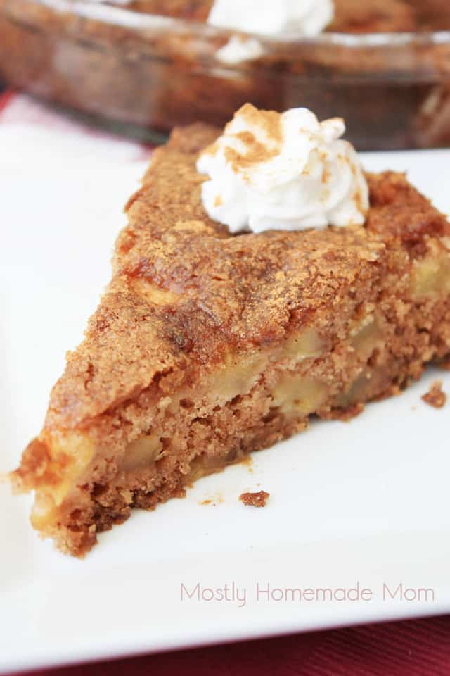 Apple Cake Pie