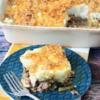 Green Bean Casserole Shepherd's Pie
