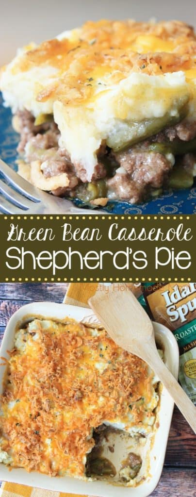 Green Bean Casserole Shepherds Pie