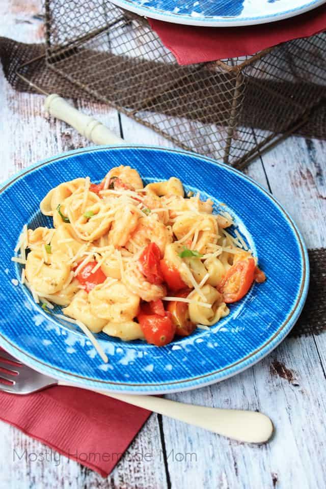 Shrimp Scampi Pasta Skillet Recipe
