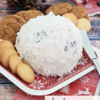 Ambrosia Cheese Ball
