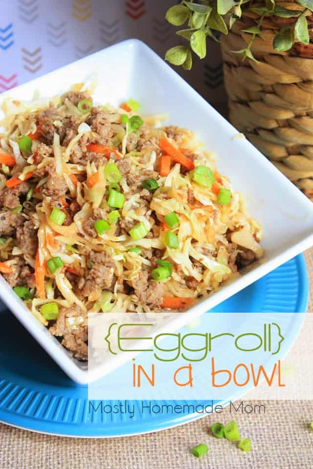 Eggroll in a bowl video mostly homemade mom eggroll in a bowl recipe forumfinder Choice Image