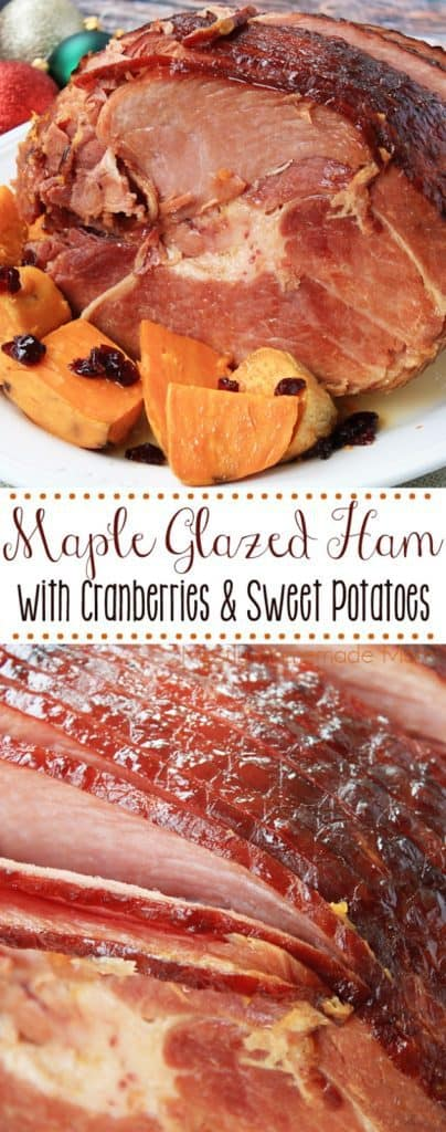 Maple Syrup Glaze for Ham