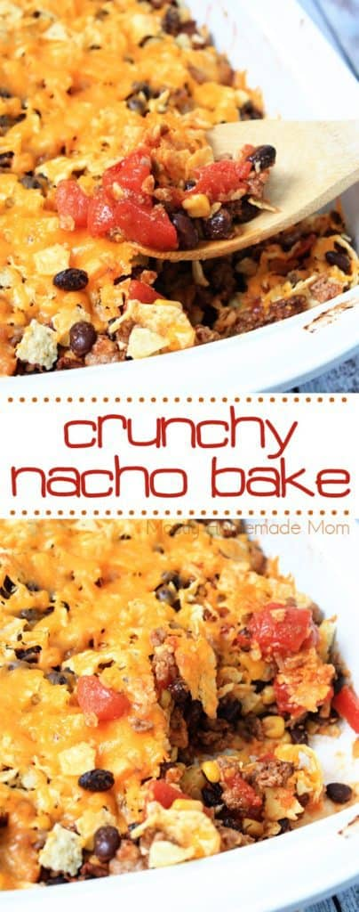 Crunchy Nacho Bake Recipe