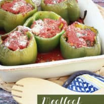 Meatloaf Stuffed Peppers