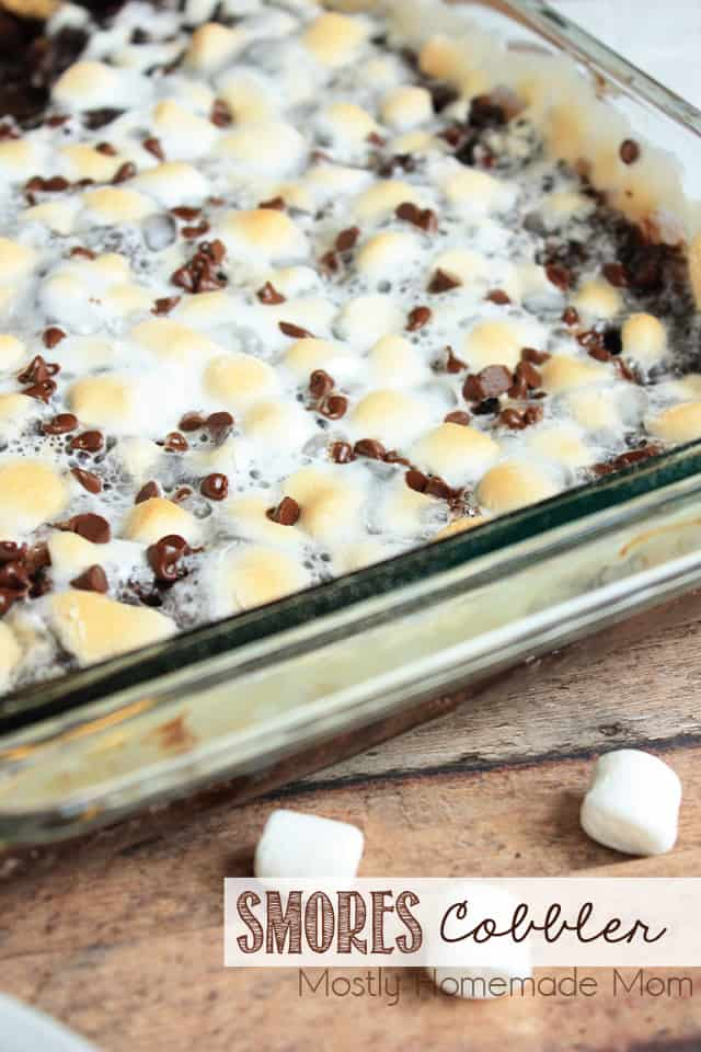 Smores Cobbler recipe