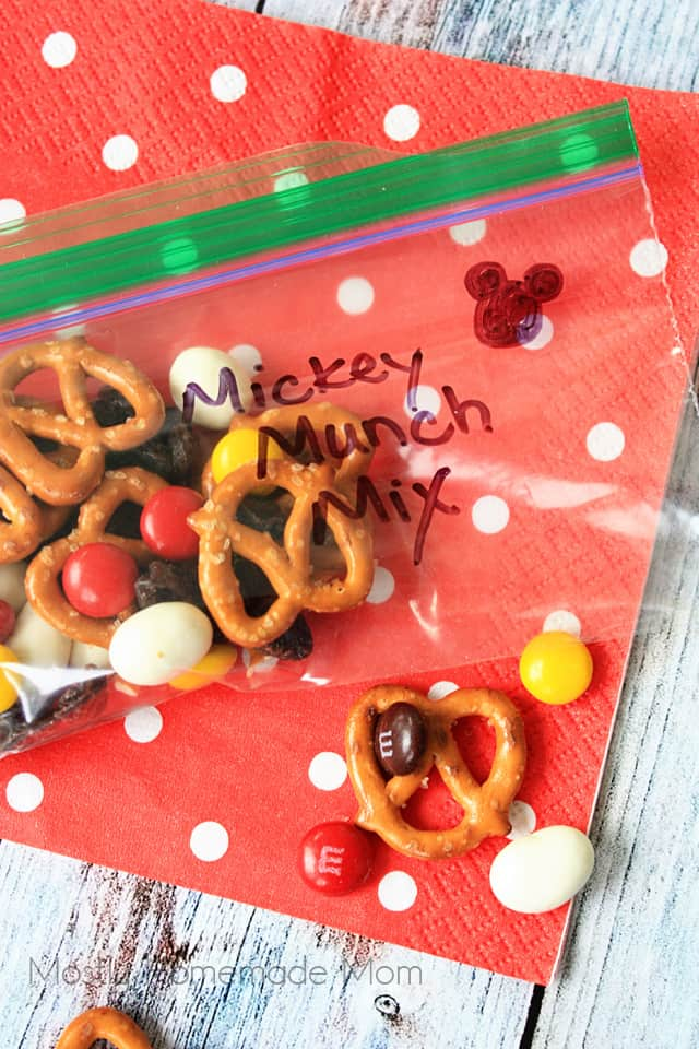 Mickey Mouse Snack Mix