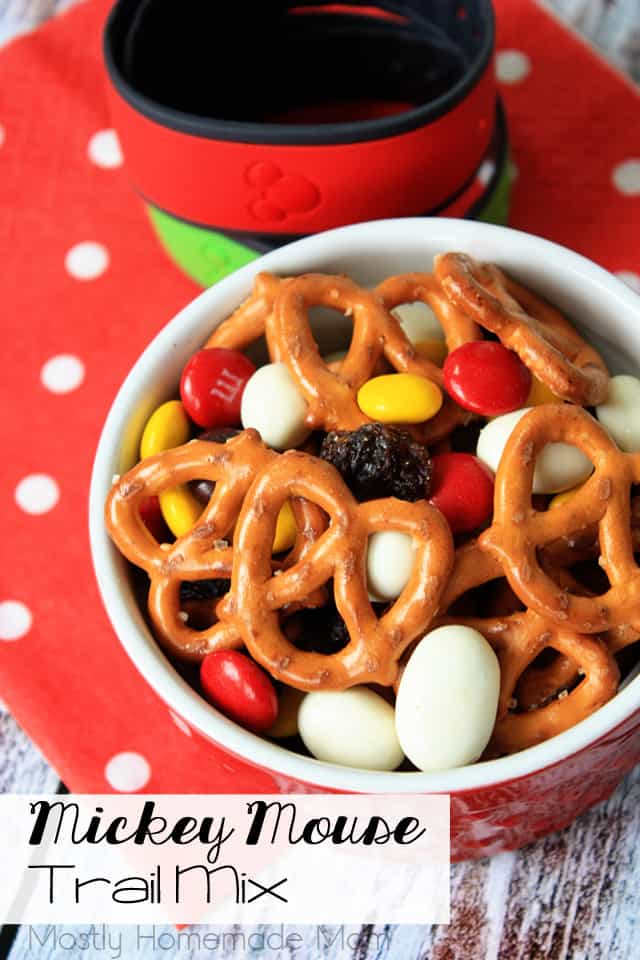 Mickey Mouse Trail Mix