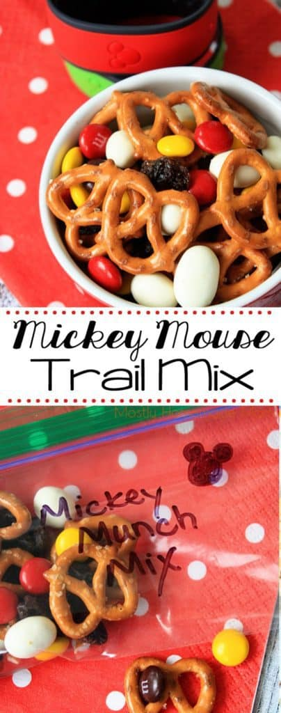 Mickey Munch Mix Recipe