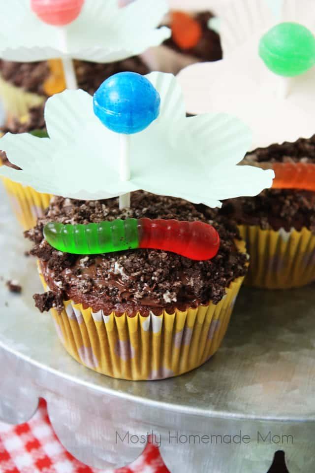 Lollipop Flower Cupcakes Recipe