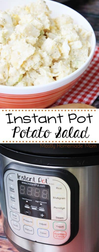 instant pot 7 in 1 potato salad