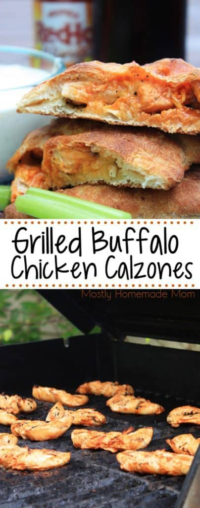 Grilled Marinated Buffalo Chicken Calzone recipes