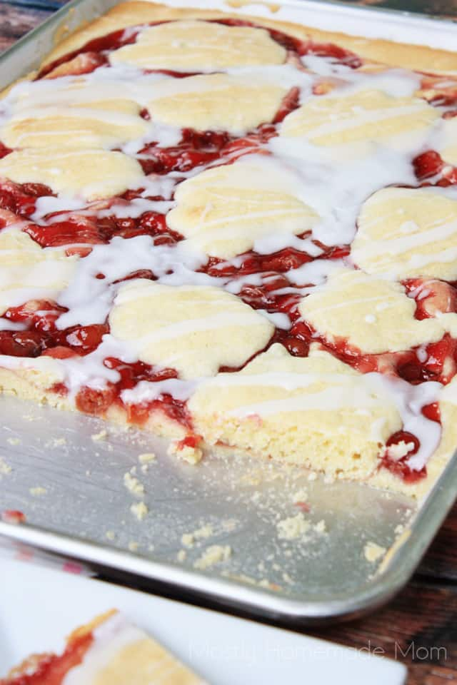 Sheet Pan Cherry Pie