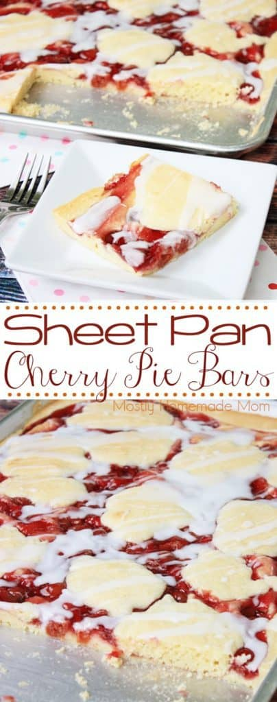 Sheet Pan Cherry Pie recipe
