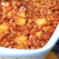 Sweet Pineapple Baked Beans
