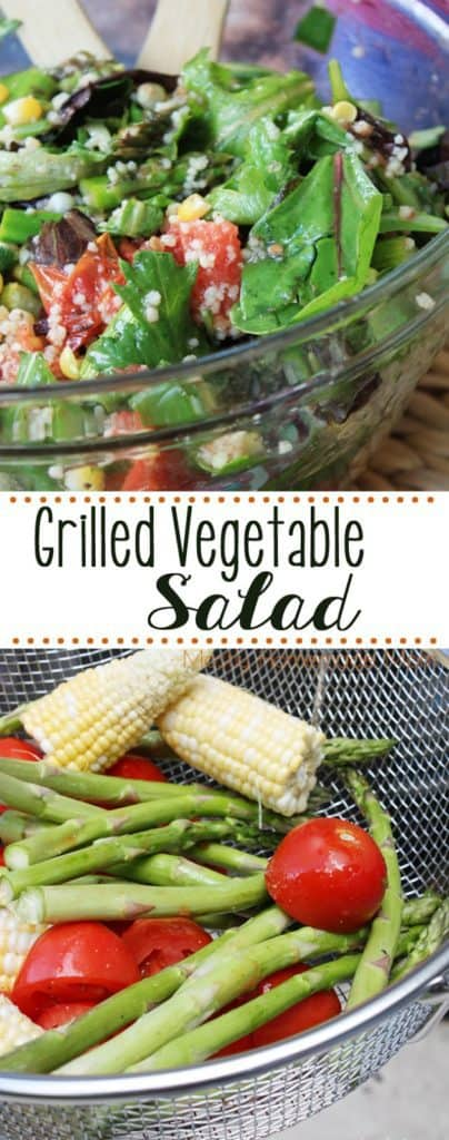 easy grilled vegetable salad recipe
